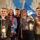 La luce della PACE è arrivata a Vienna da betlemme il 16 dicembre